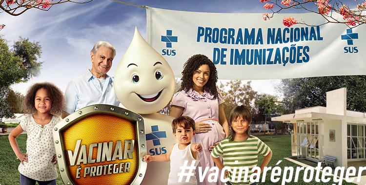 Campanha Programa Nacional de Imunizações