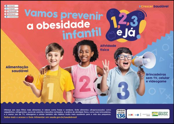 Campanha de Obesidade Infantil do Ministério da Saúde